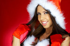 Santas Woman Royalty Free Stock Photo
