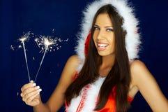 Santas Woman Stock Photography