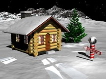 Santas Workshop Stock Image