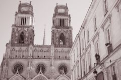 Sante Croix Cathedral, Orleans Stock Photos