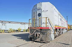 Sante Fe Locomotive Stock Photo