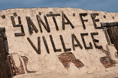 Sante Fe Village Stock Images