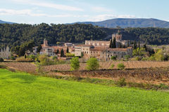 Santes Creus Monastery Royalty Free Stock Photo