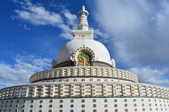 Santhi stupa. This is a photo of Santhi stupa in India Royalty Free Stock Images