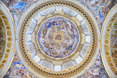 Santi Apostoli - cúpula del La Imágenes de archivo libres de regalías