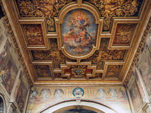 Santi Cosma e达米亚诺在罗马 免版税库存照片