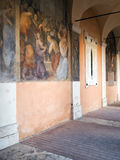 Santi Cosma e Damiano i Rome Arkivfoton