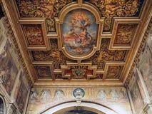 Santi Cosma e Damiano in Rome. Interior view fo the Basilica of Santi Cosma e Damiano in Rome. The basilica of Santi Cosma e Damiano is a church in the Roman Royalty Free Stock Photo