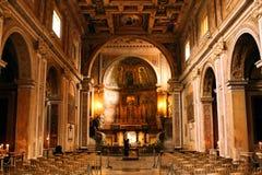 Santi Giovanni e Paolo Basilica Rome Italy Lizenzfreies Stockbild