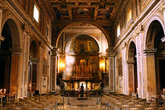 Santi Giovanni e Paolo Basilica Rome Italy Lizenzfreie Stockbilder