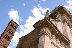 Santi Giovanni e Paolo Basilica Rome Italy Stock Image