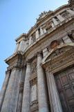 Santi Luca e Martina Forum Romanum 库存照片