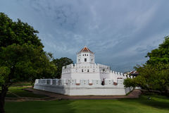 Santi柴Prakan公园,曼谷,泰国 库存照片