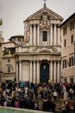 Santi Vincenzo e Anastasio a Fontana di Trevi History City Rome Empire stock photos