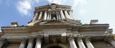 Santi Vincenzo e Anastasio a Trevi. View of the Santi Vincenzo e Anastasio a Trevi church located in Rome, Italy Royalty Free Stock Photo