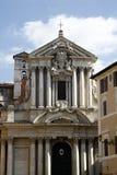 Santi Vincenzo e Anastasio a Trevi. View of the Santi Vincenzo e Anastasio a Trevi church located in Rome, Italy Stock Photos
