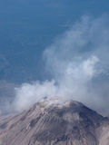 Santia Guito. Active Volcan Santia Guito in the heart of Guatemala Royalty Free Stock Photography