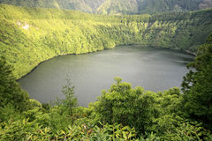 Santiago. Lake of Santiago - Sao Miguel Island/Azores/Portugal Stock Photos