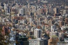 Santiago aglomerado Fotografia de Stock Royalty Free