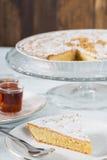 Santiago almond cake Royalty Free Stock Images