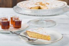 Santiago almond cake Royalty Free Stock Image