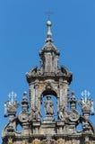 Santiago Apostle sculpture Royalty Free Stock Photography