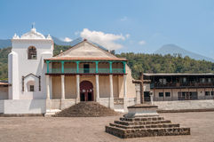 Santiago Atitlan Church royalty-vrije stock foto's