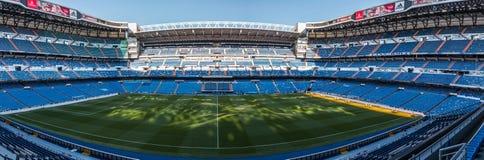 Santiago Bernabéu. Inside view of stadium Santiago Bernabéu royalty free stock images