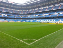 Santiago Bernabeo. Home stadium of Real Madrid stock image