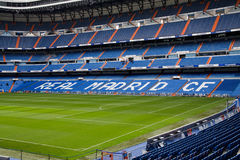 Santiago Bernabeu. The Santiago Bernabeu Stadium in madrid, Spain stock photos