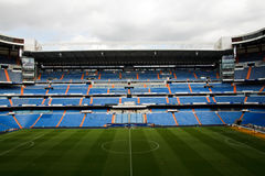 Santiago Bernabeu. The Santiago Bernabeu Stadium in madrid, Spain stock photography
