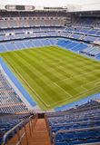 Santiago Bernabeu. The Santiago Bernabeu in Madird, February 28 2010. Real Madrid are the most successful and richest football team in the world stock image