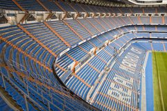 Santiago Bernabeu. The Santiago Bernabeu in Madird, February 28 2010. Real Madrid are the most successful and richest football team in the world stock photography