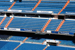 Santiago Bernabeu. The Santiago Bernabeu stadium in Madrid royalty free stock images