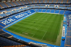 Santiago Bernabeu. Real Madrid Stadium - Santiago Bernabeu. Editorial use only stock photography