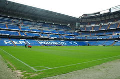Santiago Bernabeu. Real Madrid Stadium stock photography