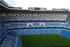 Santiago Bernabeu. Real Madrid Stadium - Santiago Bernabeu royalty free stock photos