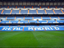 Santiago Bernabeu. Real Madrid Stadium - Santiago Bernabeu royalty free stock images