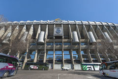 Santiago Bernabeu Arena Stock Photos