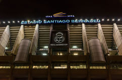 Santiago Bernabeu stock photo
