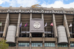 Santiago Bernabeu Royalty Free Stock Photography