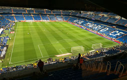 Santiago Bernabeu Panoramic view Royalty Free Stock Photography