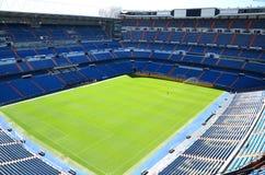 Santiago Bernabeu stadion av verkliga Madrid Royaltyfria Bilder