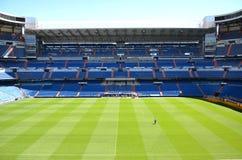 Santiago Bernabeu stadion av verkliga Madrid Arkivfoto