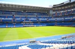 Santiago Bernabeu stadion av verkliga Madrid Fotografering för Bildbyråer