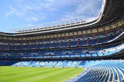Santiago Bernabeu stadion av verkliga Madrid Royaltyfria Foton