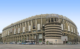 Santiago Bernabeu Stadium. Santiago Bernabeu, Stadium of Real Madrid stock photo