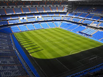 Santiago Bernabeu stadium Stock Photos