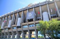 Santiago Bernabeu Stadium av Real Madrid Royaltyfria Bilder