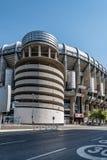 Santiago Bernabeu Stadium. It is the current home stadium of Real Madrid Football Club. Madrid, Spain - September 14, 2016: Santiago Bernabeu Stadium. It is the stock photo